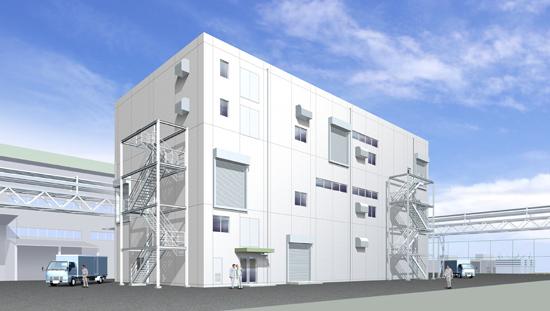 工場パース 建築完成予想図 制作会社